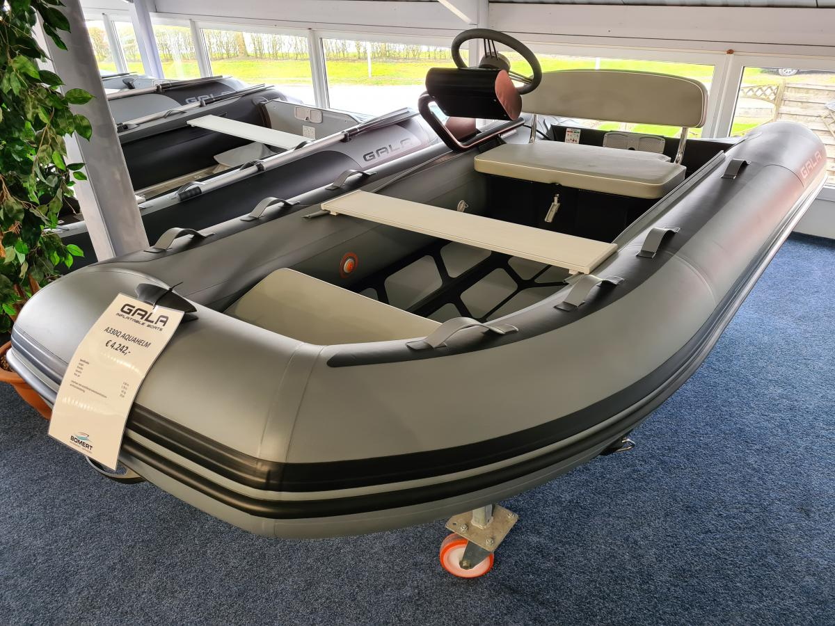 Te koop Gala A330Q Aquahelm Rubberboten | Bomert Watersport