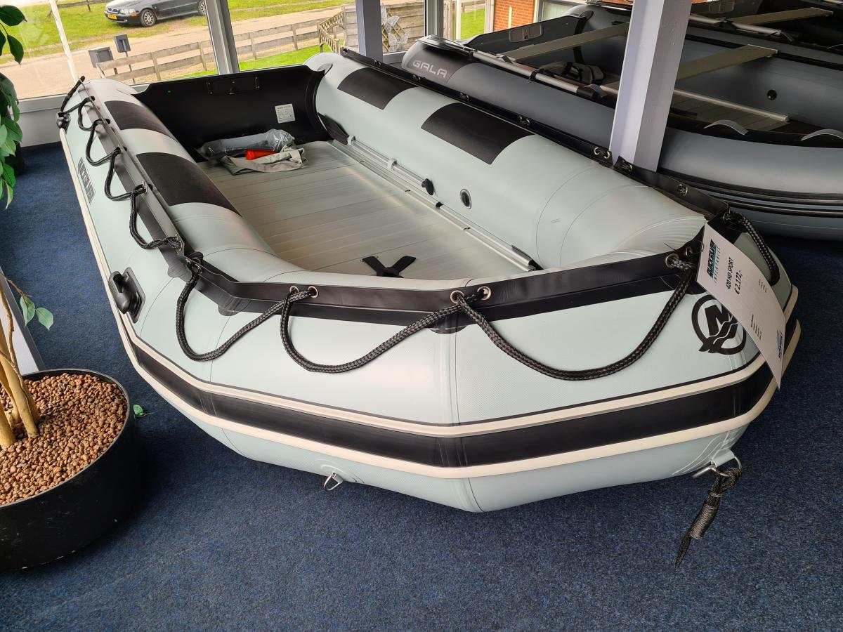 Te koop Quicksilver Inflatables 420 HD Sport Rubberboten | Bomert Watersport