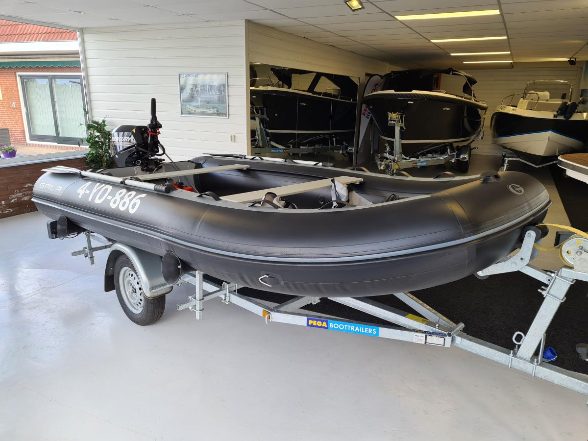 Te koop Gala F360 incl. Mercury 20 EFI  | Bomert Watersport