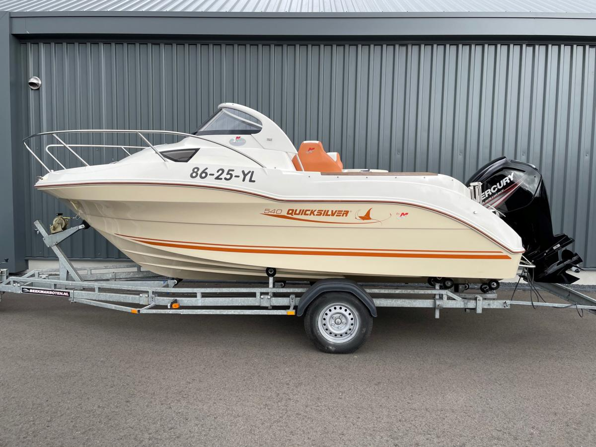 Te koop Quicksilver  540 Cruiser  | Bomert Watersport
