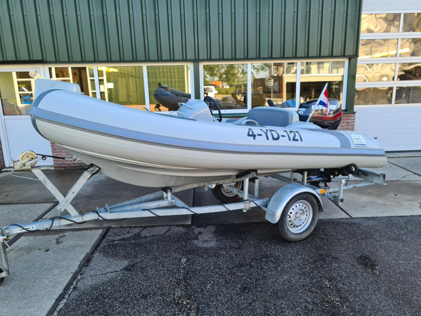 Te koop Diesel Rubbing 380 Hypalon Rubberboten | Bomert Watersport